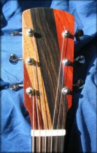 cocobolo/teak/ebony/padauk solid head with waverly tuners