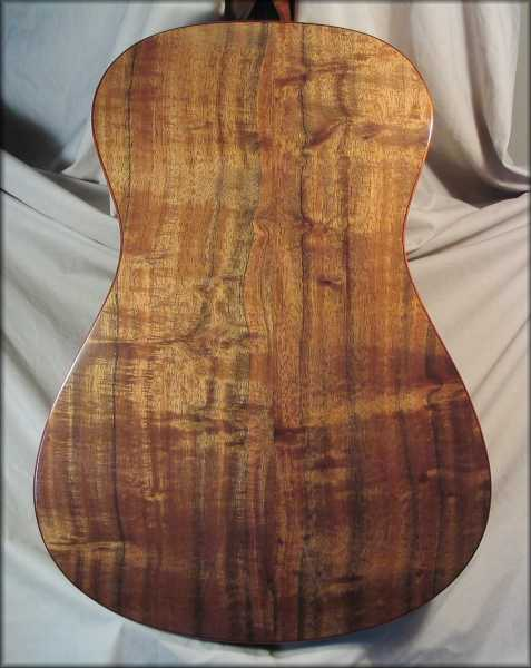 Koa medium back